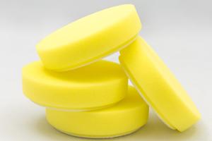 "4"" yellow foam pads for dual head Cyclo Polisher"