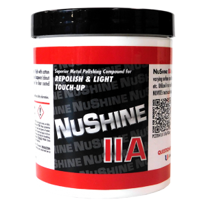 NuShine llA - Metal Polish for Repolish and Light Touch Up