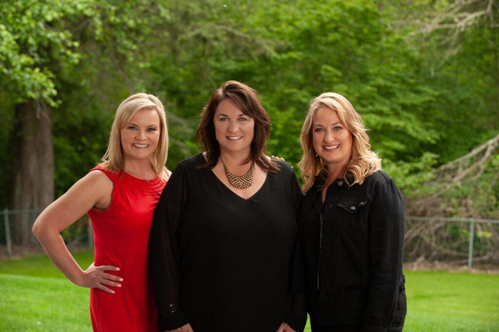 Rosie Rourke Melissa Hudson real estate agents