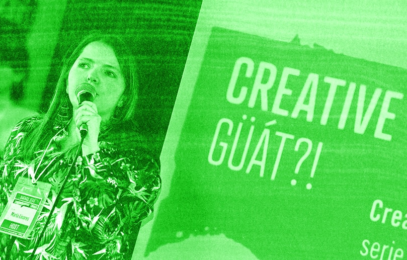 Maria Linares - CreativeMornings BOG