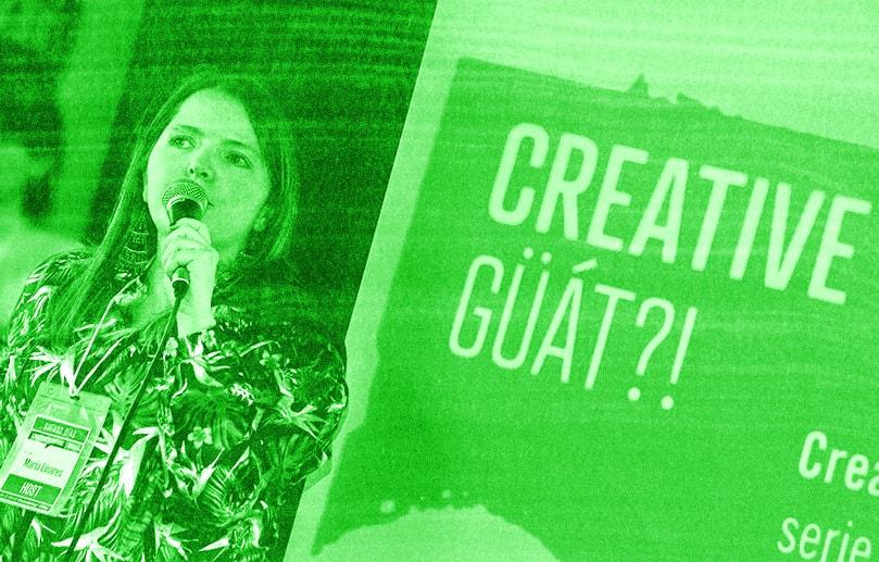 Maria Linares - CreativeMornings BOG
