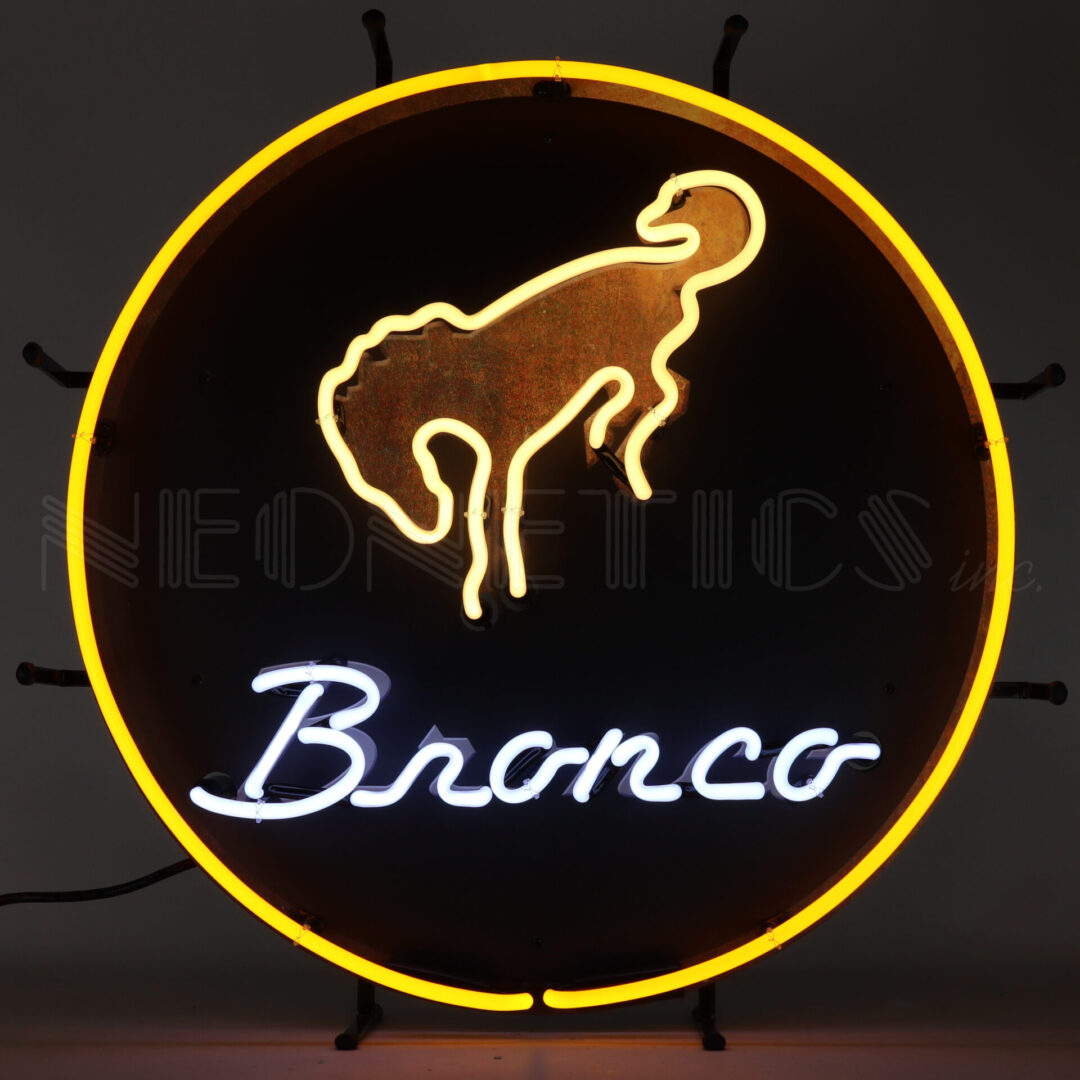 5BRONC - FORD BRONCO NEON SIGN