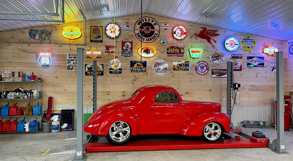 Andrew's garage view 1