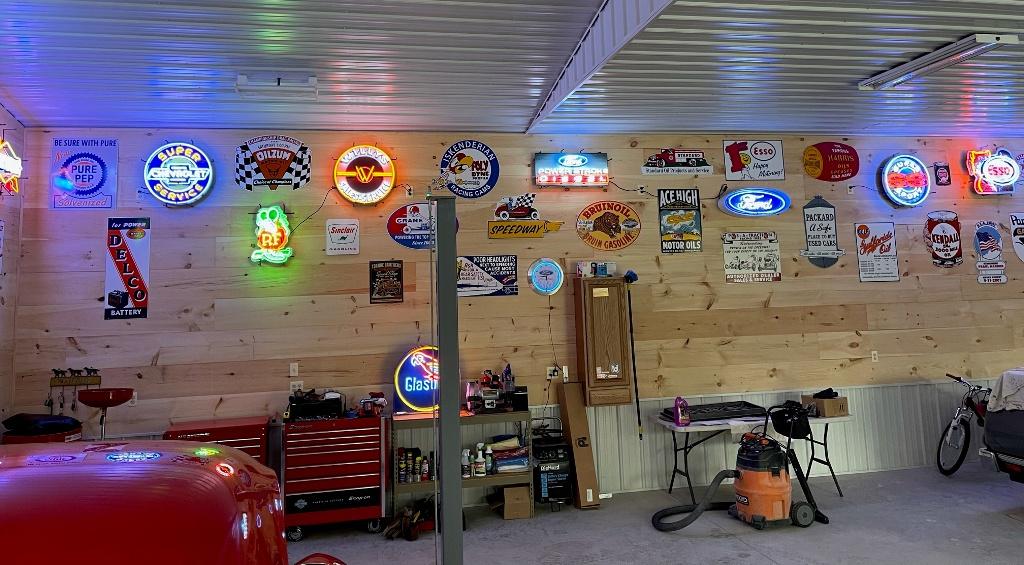 Andrew's garage view 2