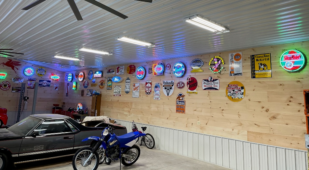 Andrew's garage view 3