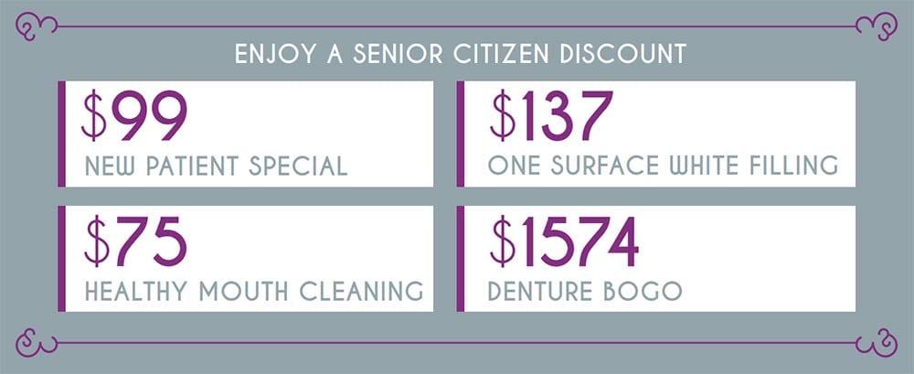 Tampa - Senior Citizen Dental Discounts