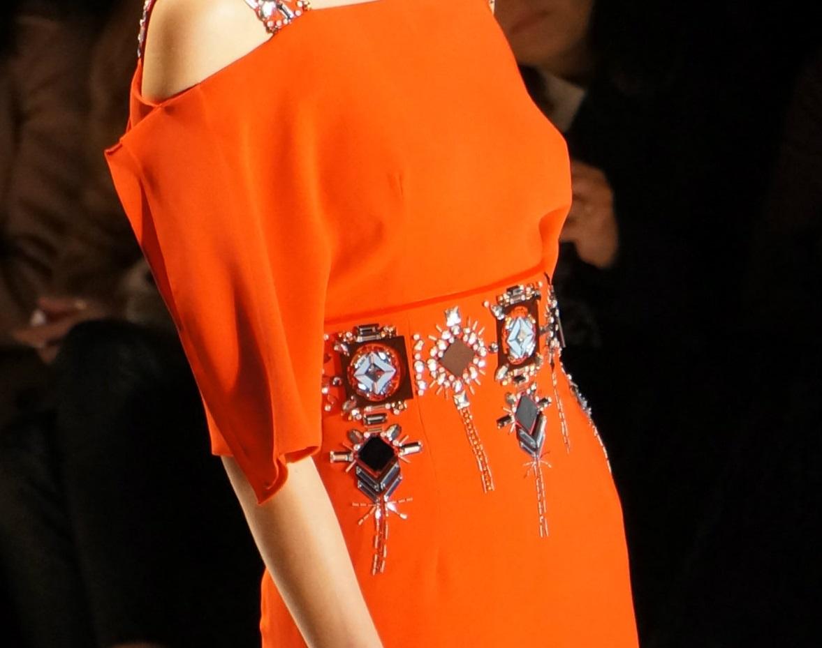 Carolina Herrera F/W 2014, Carolina Herrera dress details, Evening Gowns Carolina Herrera