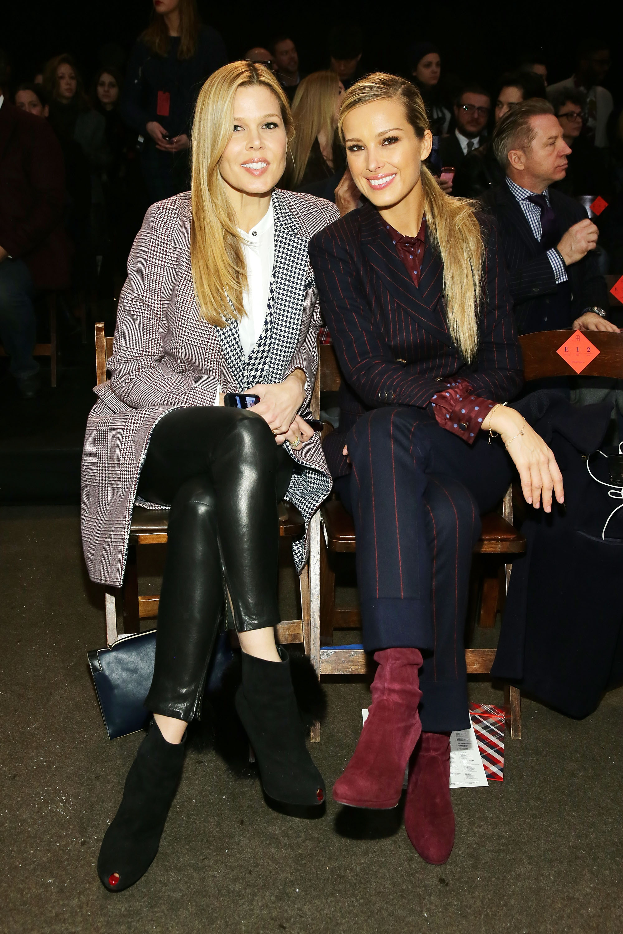 Tommy Hilfiger Presents Fall 2014 Women's Collection - Front Row