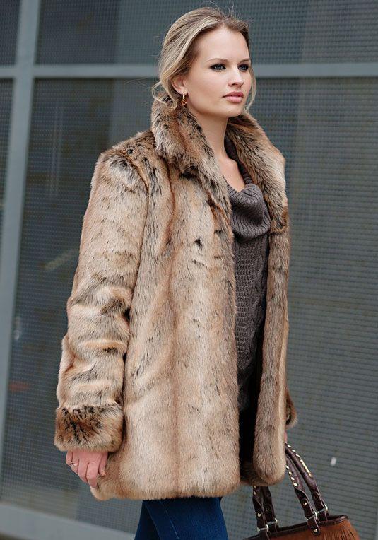 Faux Fur coats, vegan fashion