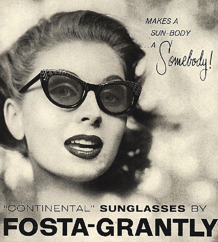 Origen de las gafas de sol