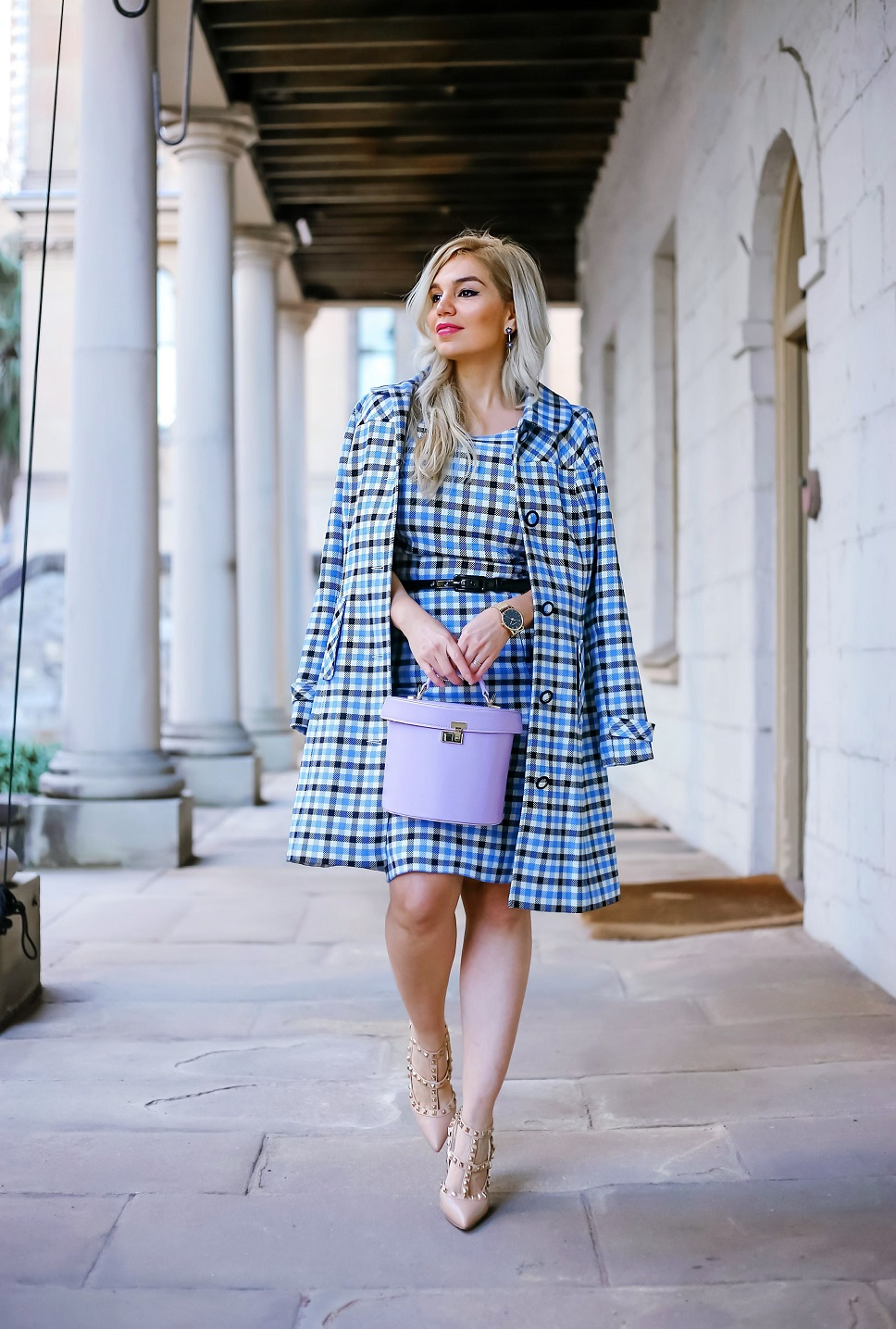 CHECK COAT, HOW TO WEAR COLOR ON WINTER