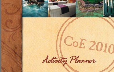 activity planner brochure Copywriter Al Lefcourt