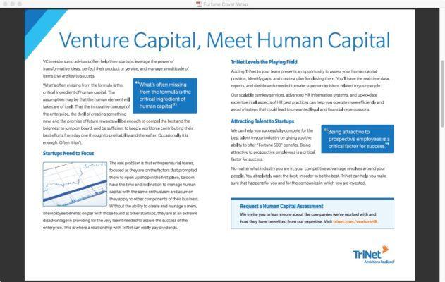 Inside Fortune Wrap for TriNet Freelance Copywriter Al Lefcourt