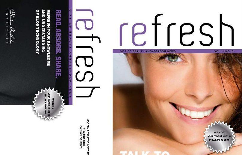 Monthly E-newsletter for Cosmetic Surgery Freelance Copywriter Al Lefcourt