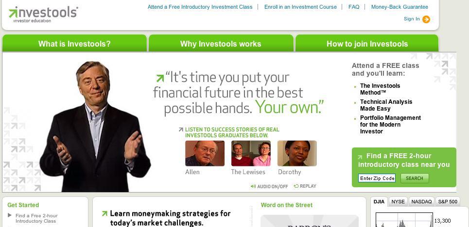 Investools Landing Page Copywriter Al Lefcourt