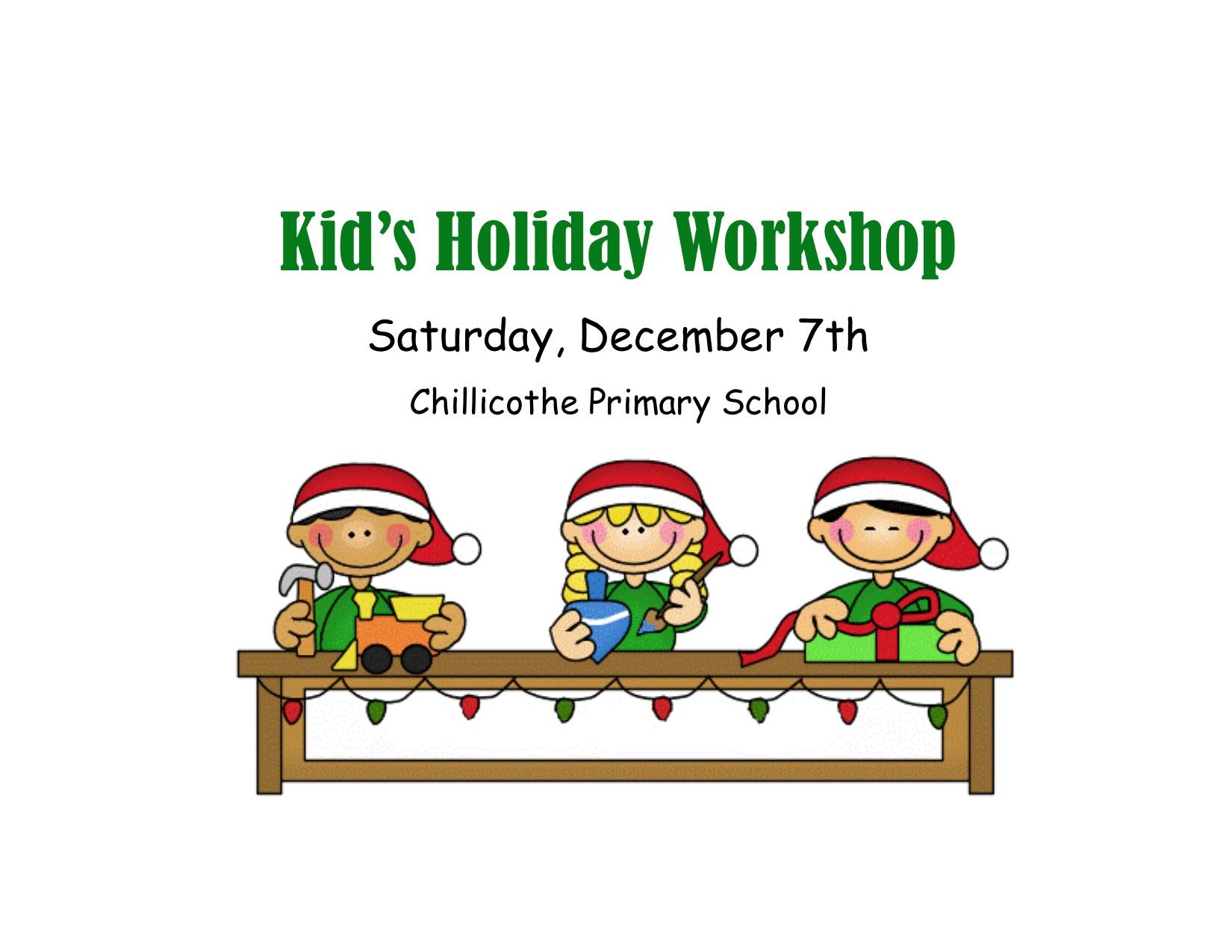 Kids' holiday workshop