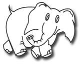 Country Fair White Elephant