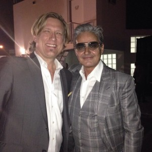 Jack and Oribe Canales (celebrity hairstylist and Co-Founder of Oribe hair care)