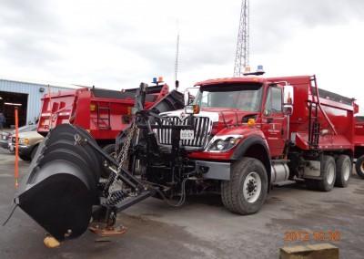 Winter Snow Plow DZ Driving Trainer