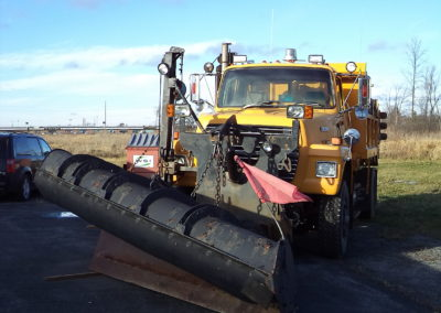 New Snow Plow Operator Training