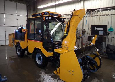 Sidewalk Plow Operator Winter Maintenance Training