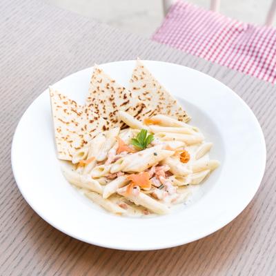 piadera Penne-al-Salmone our menu