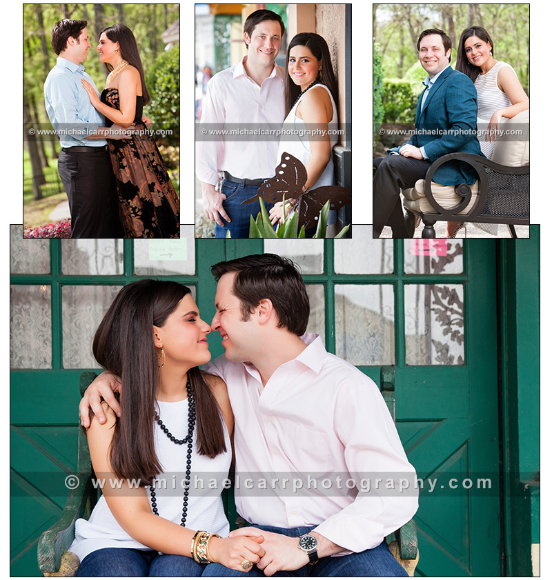 Engagement Portraits in Houston