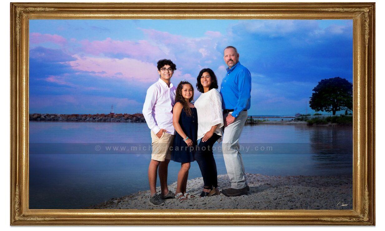 Destination Family Portrait Photography Outdoor
