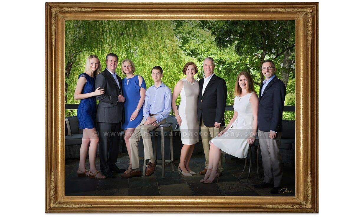 Houston Family Portrait Photography Outdoor