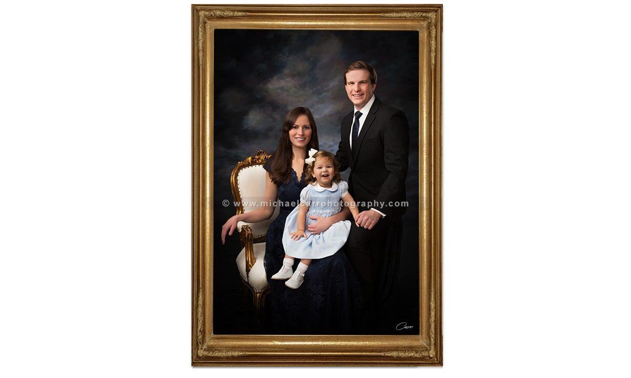Houston Family Portraits In Studio