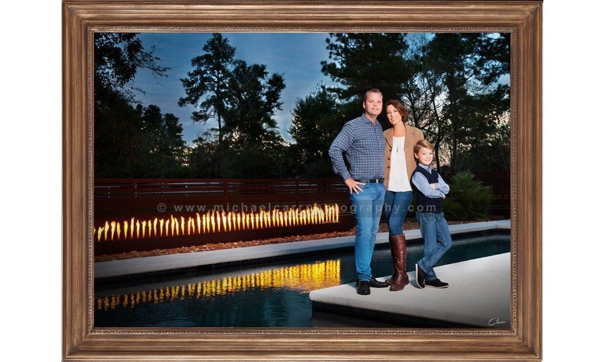On Location Family Portraits Houston