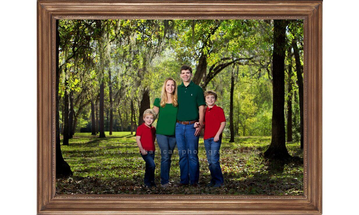 Outdoor Family Portrait Photography Houston