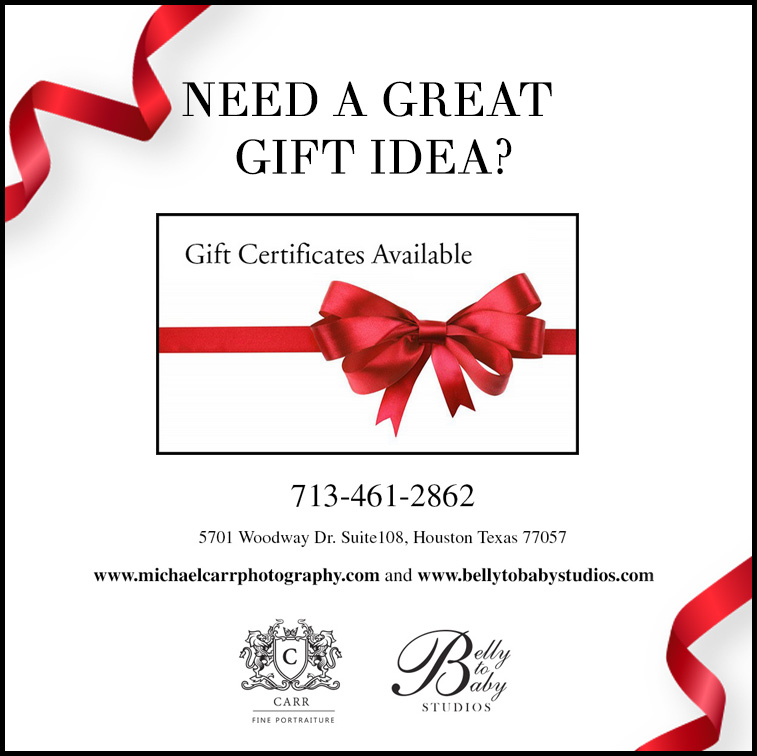 2020 Holiday Gift Certificate Idea