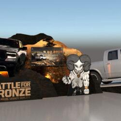RAM Battle for the Bronze 3D render