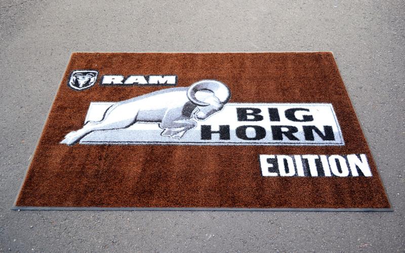Ram Big Horn promo rug