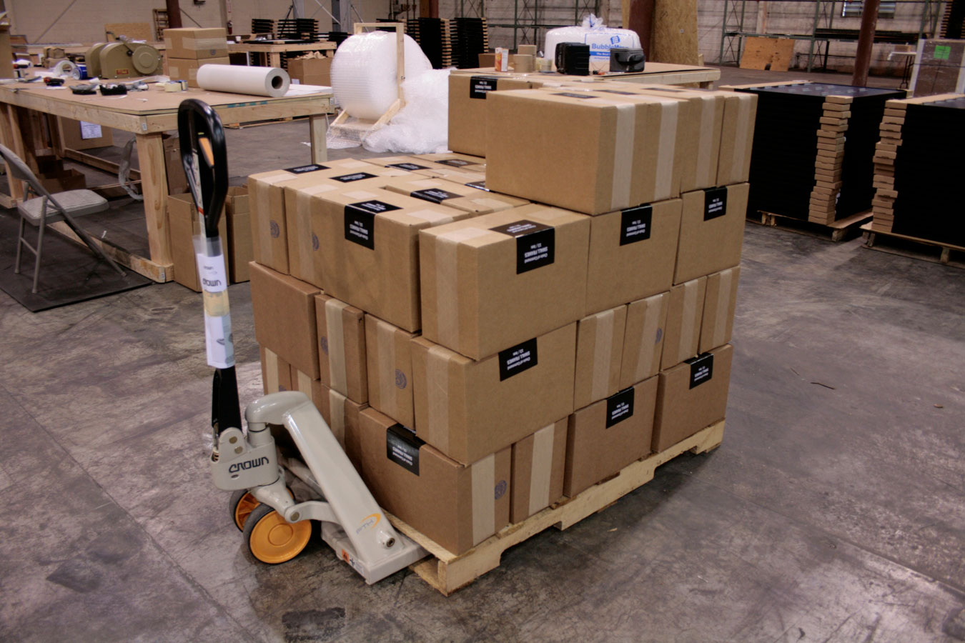 Packaging and Shipping Fulfillment