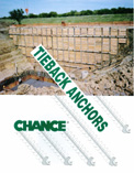 Helical Tieback Anchors Brochure - to support and structurally repair retaining walls, seawalls and bulkheads