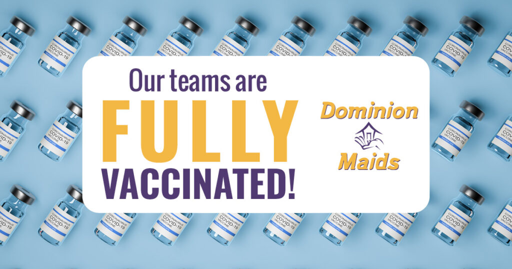 All of our teams are fully vaccinated!