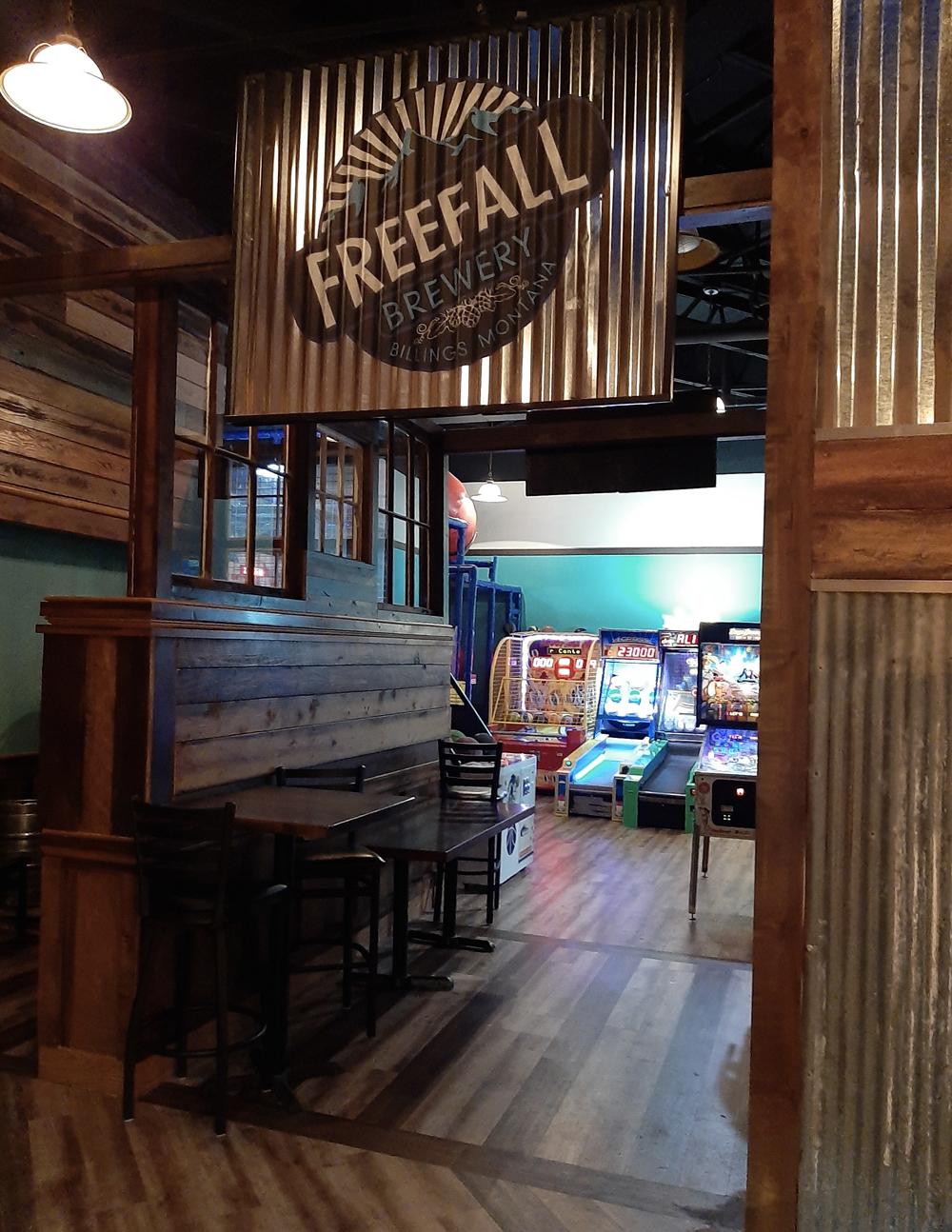 freefall brewery