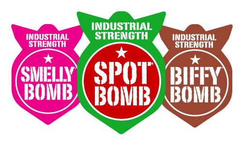SPOTBOMB removes pet stains, carpet stains, food stains
