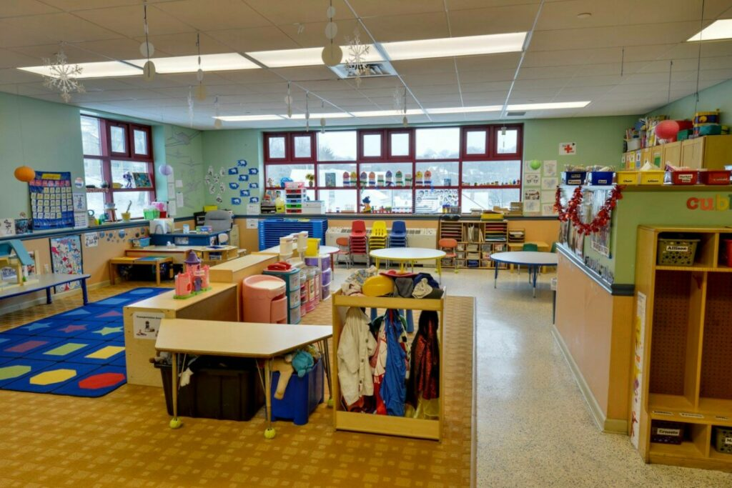 Young Toddler Classroom at Providence Connections