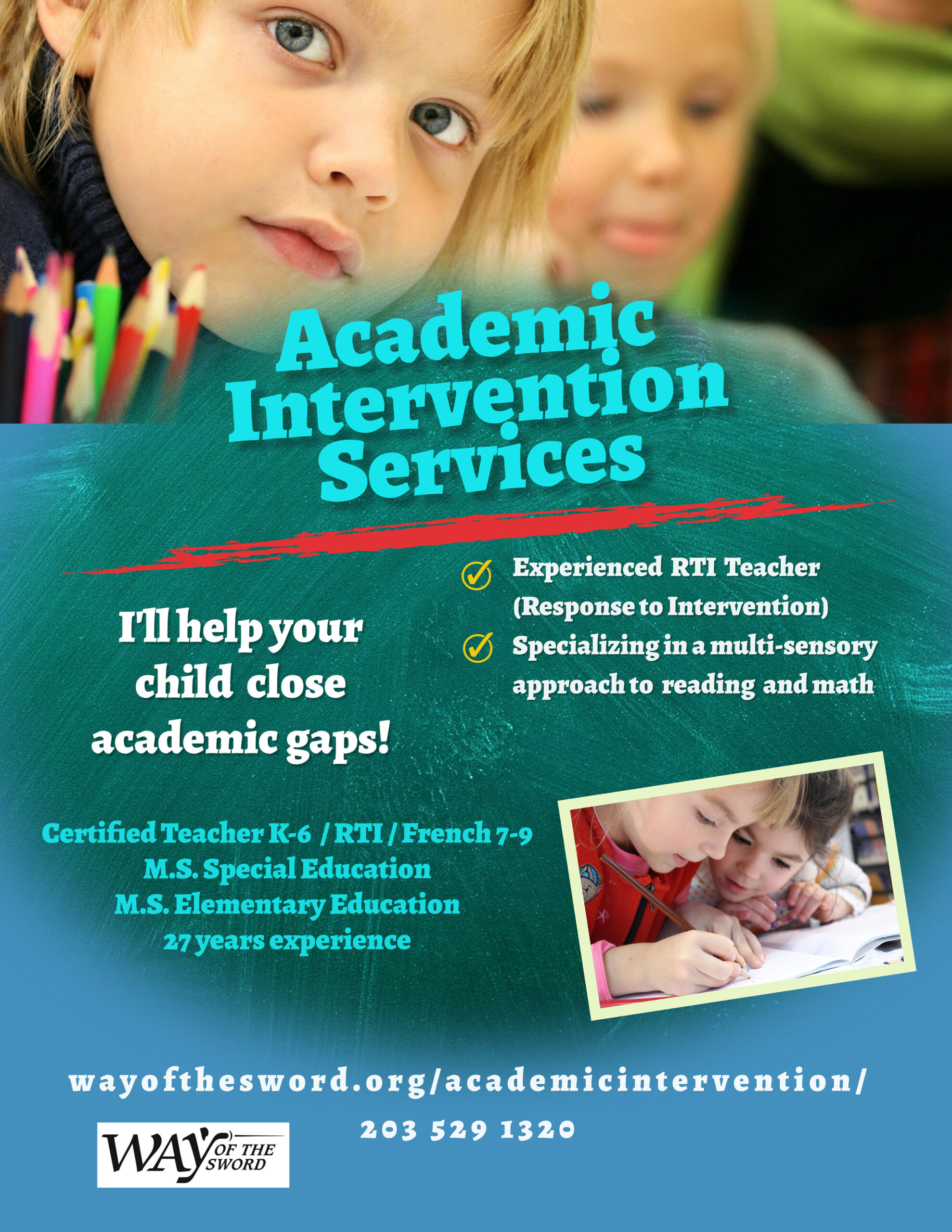 Copy of Private Tutoring Flyer