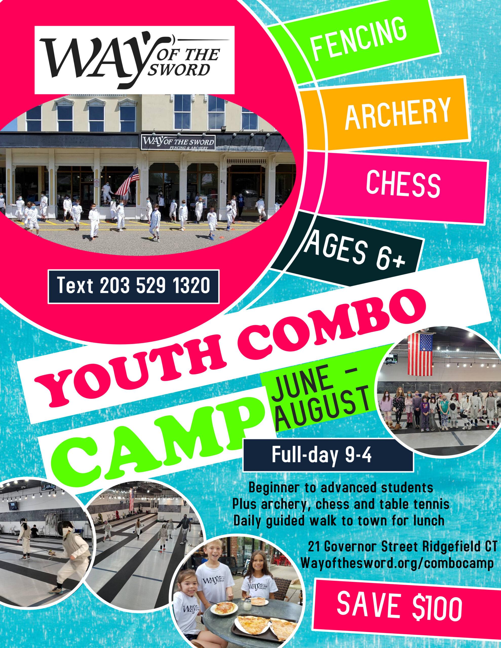 Combo Camp fencing flyer WAY (1)