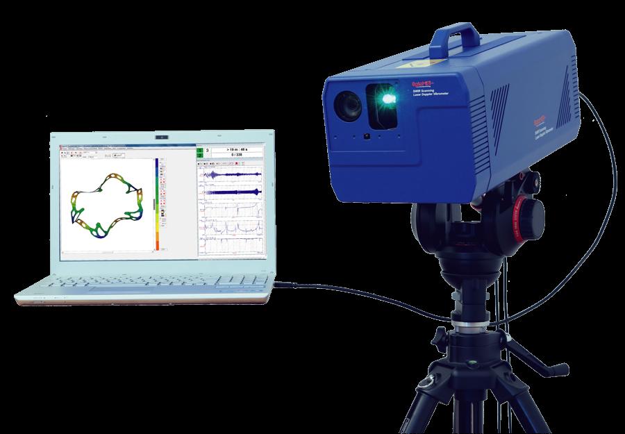 laser vibrometer scanning