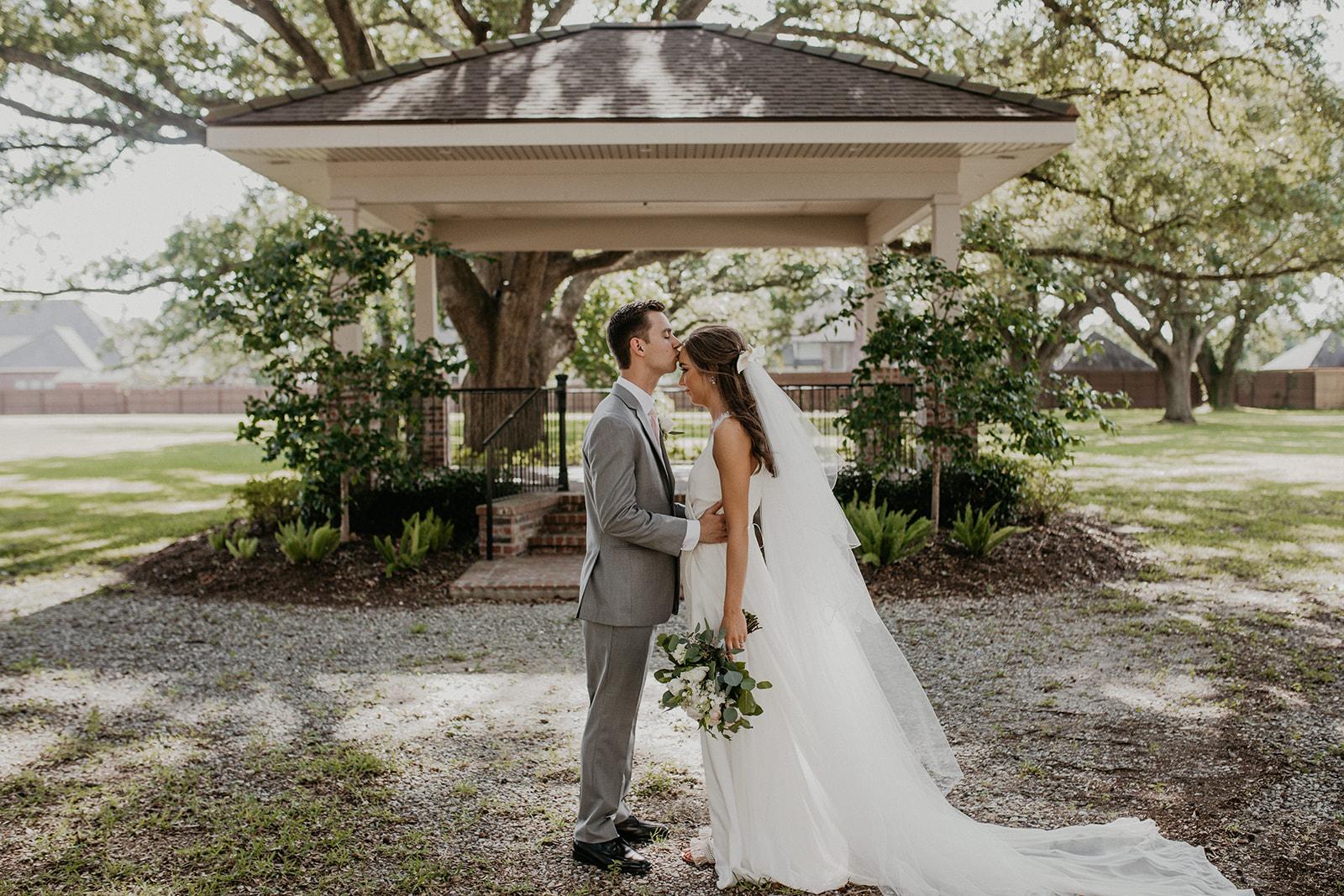 Wedding Photos at the Gazebo