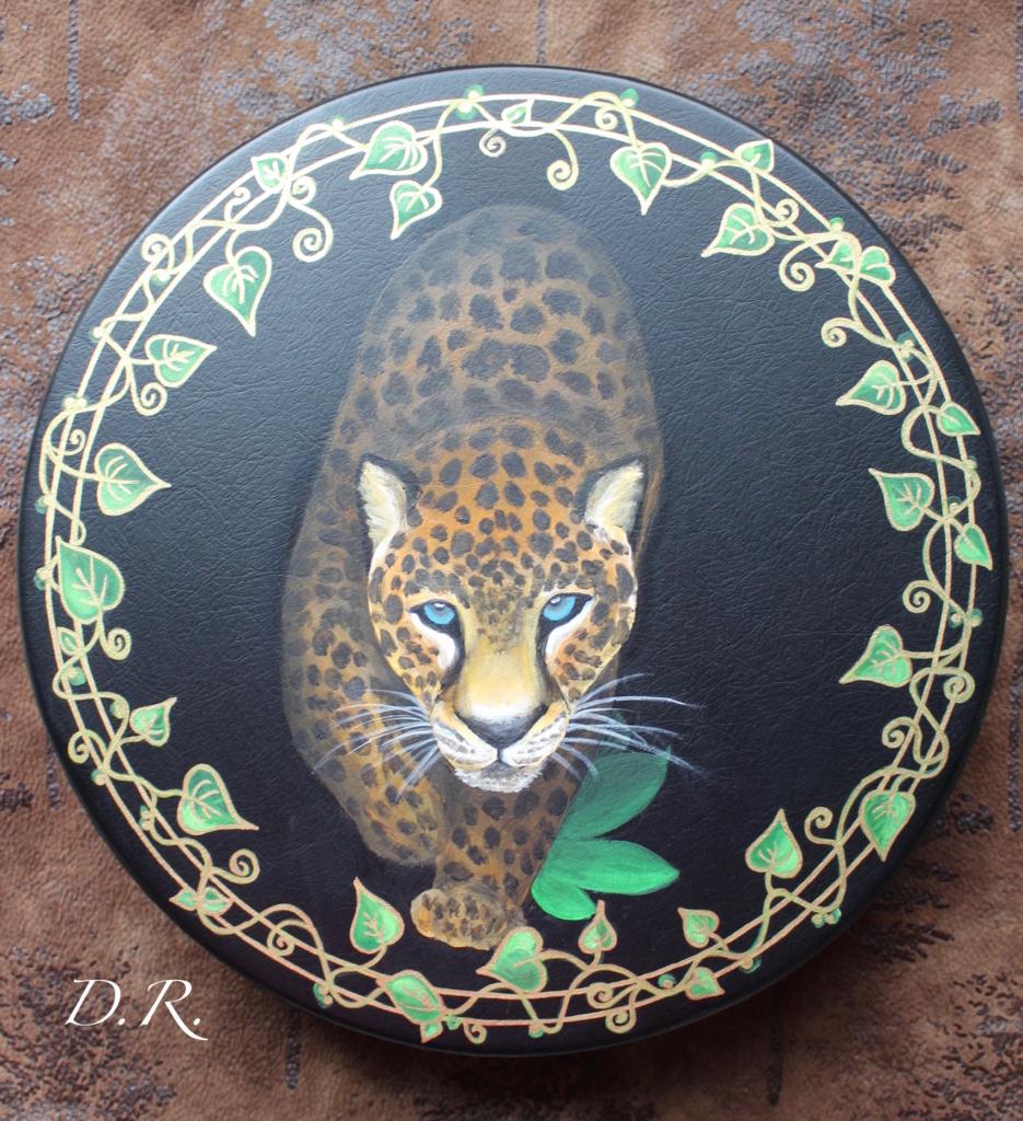 Leopard Drum