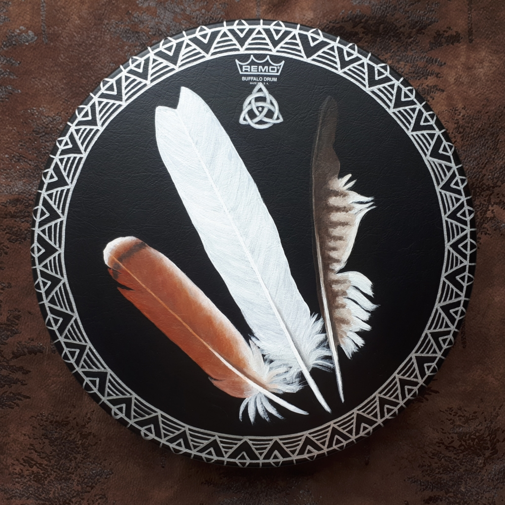 Eagle Feather Drum