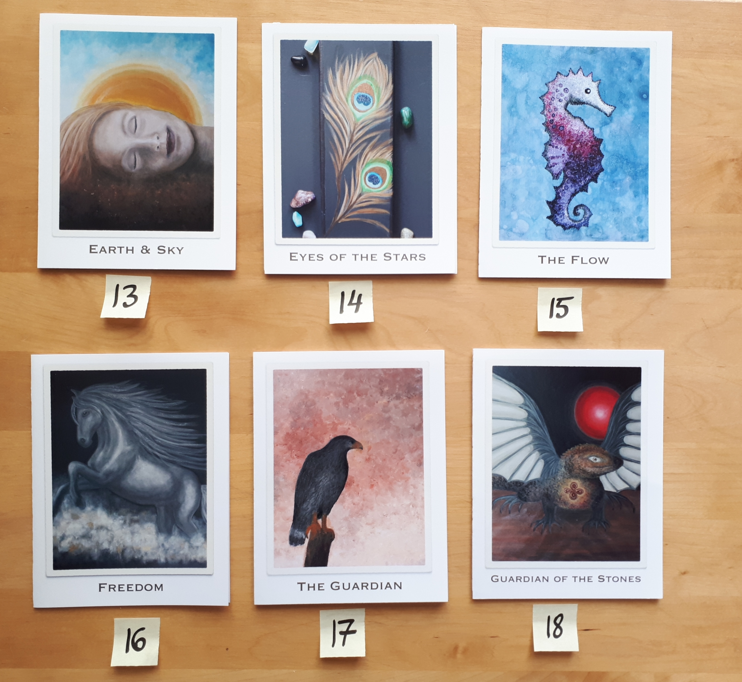 Designs 13 to 18