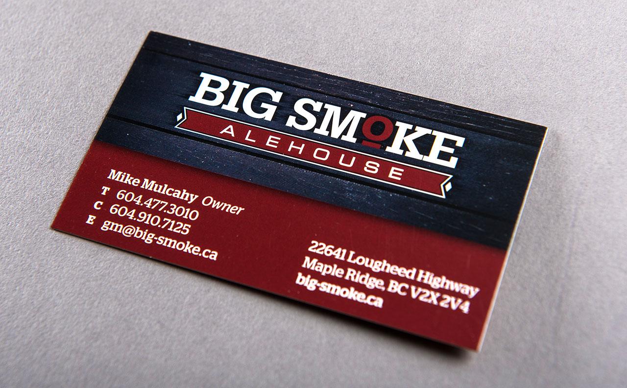 Big Smoke Business Card by HCD