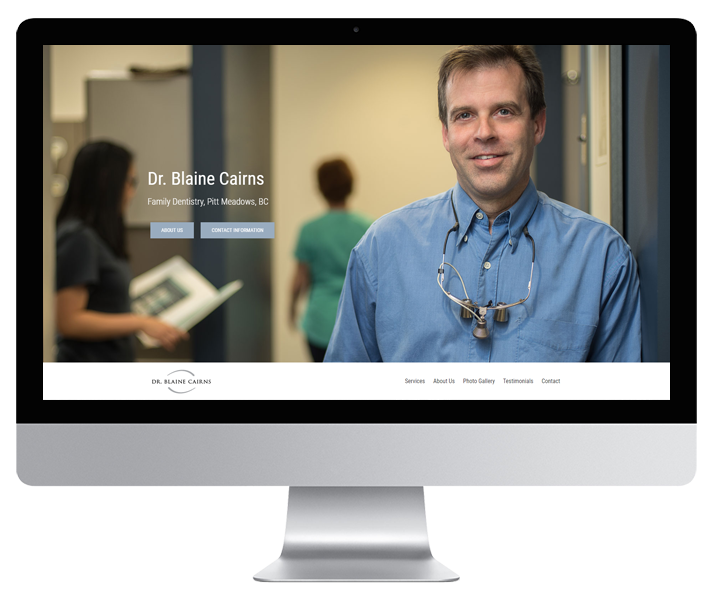 Dr Cairns Website by HCD